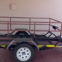 Mechter Multi-purpose/quad bike tip-up trailer